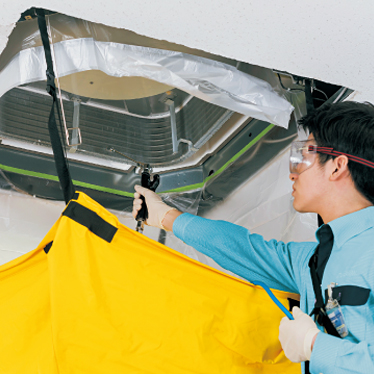 エアコンクリーニング<天井埋込タイプ>